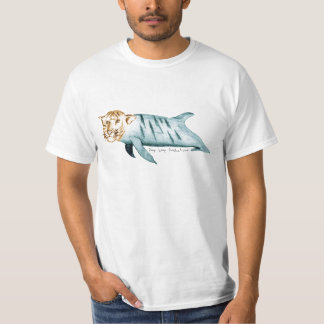 T-Shirt with Dolphin Kitty & Camera Logo on Back