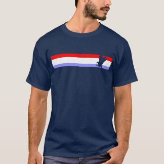 T- Shirt with Eagle on Red, White, and Blue