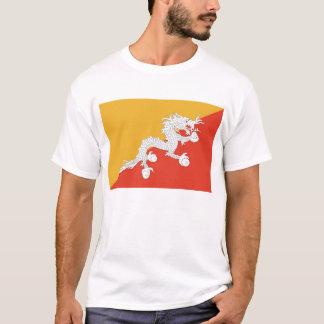 T Shirt with Flag of Bhutan