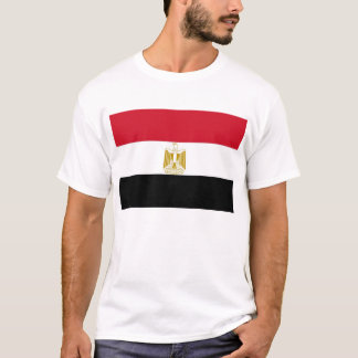 T Shirt with Flag of Egypt