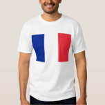 T Shirt with Flag of France