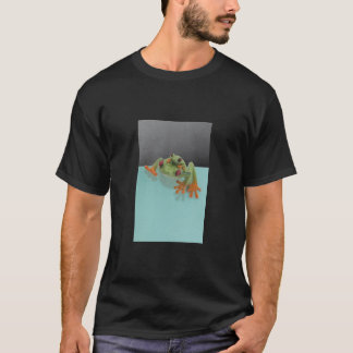 T-shirt with frog