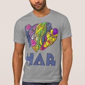 T-Shirt with hab illustration