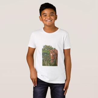 T-shirt with horse portrait