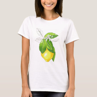 T-shirt with juicy lemon.