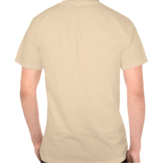 T-shirt with logo on back