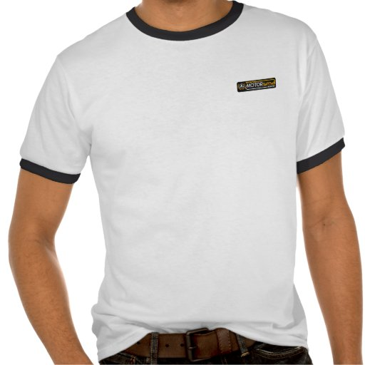 T-shirt with Motorsma scratches