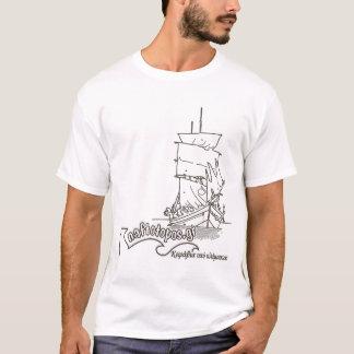 T-Shirt with naftotopos Logo