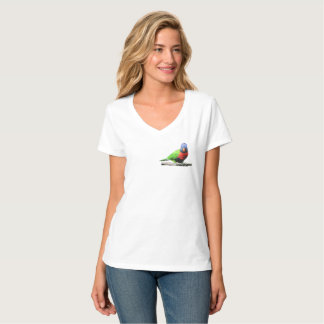 T-shirt with parrot