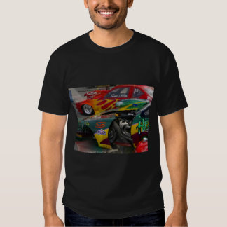 T-Shirt with Race car abstract Design
