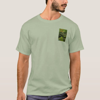 """T-Shirt with """"Secluded Stream"""" artwork"""