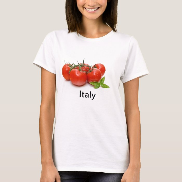 T-Shirt with tomatoes