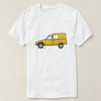 T-shirt with yellow Citroën Acadiane