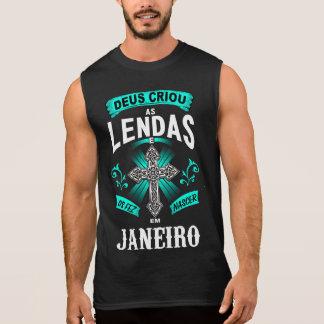 T-shirt without Mangos Birth Legends of Janeiro