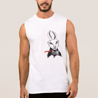 """T-shirt without sleeves """"Conejita punky """""""