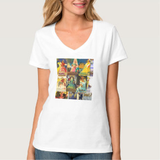 T-shirt Woman Old Posters Vintage Andalusia
