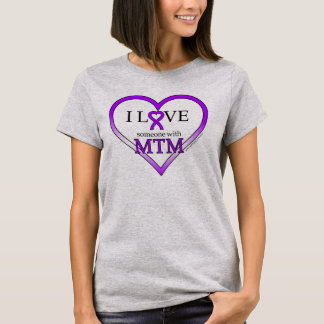 T-Shirt (Women's) - I Love Someone With MTM