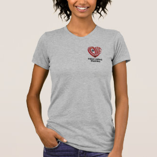 T-Shirt Women's- Love My Polish Lowland Sheepdog