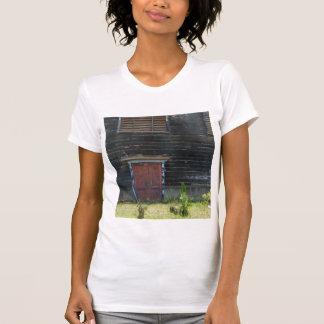 T-Shirt/Womens' Tank-RusticRedWoodDoor T-Shirt
