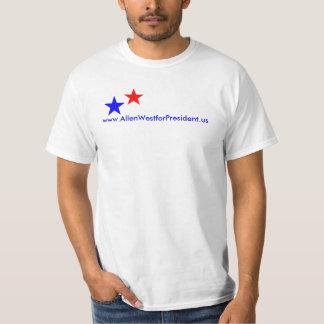T-shirt, www.AllenWestforPresident.us T-Shirt