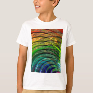 t-shirts and Colorful Waves lines art design gifts