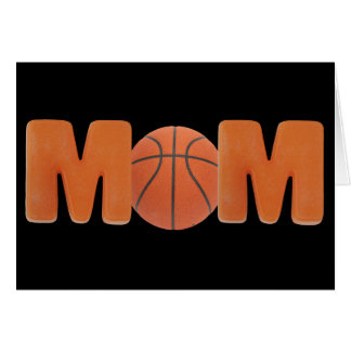 T-shirts and Gifts For Basketball Mom Card