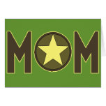 T-shirts and Gifts For Military Mom Greeting Card