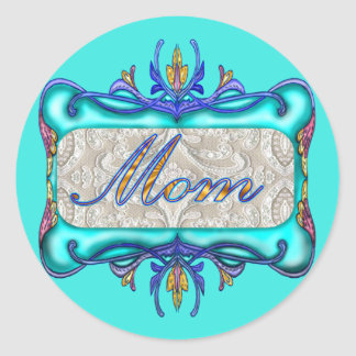 T-shirts and Gifts For Mom Classic Round Sticker
