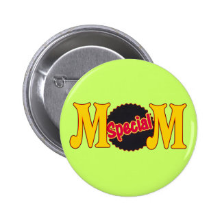 T-shirts and Gifts For Special Mom Pinback Button