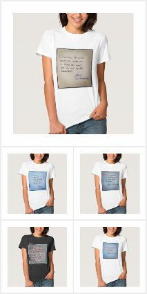 T-Shirts by Haidji - Book Quotes Collection