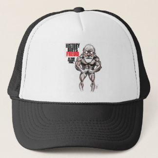 t shirts featuring historical figures trucker hat