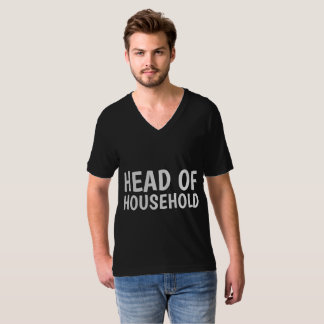 T-shirts for Husband Dad, HEAD OF HOUSEHOLD