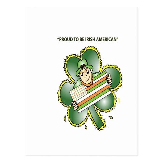 T-Shirts For Irish Americans Postcard