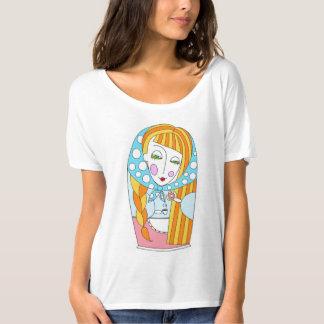 t-shirts girl matrioshka
