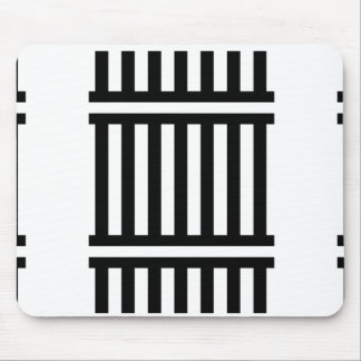 t-shirts n gifts BNW Rail Train Track graphic Mouse Pad