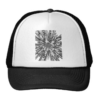 t-shirts  Squares Criss Cross Lines Abstract gifts Trucker Hat