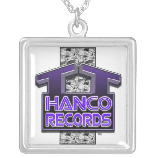 T.T. Hanco Records Designer Brand Chain Silver Plated Necklace