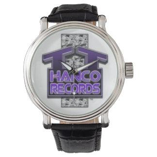 T.T. Hanco Records Designer Watch