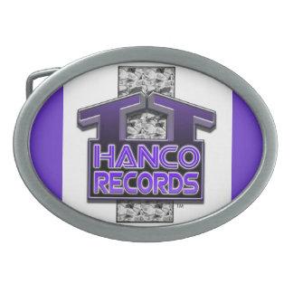 T.T. HANCO RECORDS SIGNATURE BELT BUCKLE