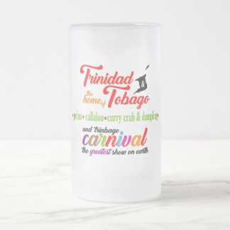 T&T Home of...Souvenir Frosted Mug