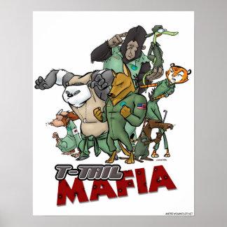 T-Tail Mafia Poster