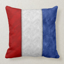 T Tango Watercolor Nautical Signal Maritime Flag Throw Pillow