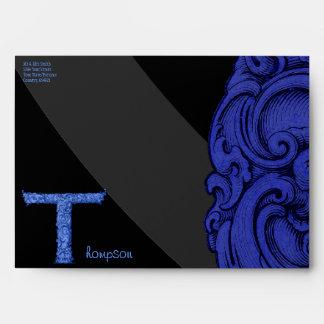 T - The Falck Alphabet (Blue) Envelope
