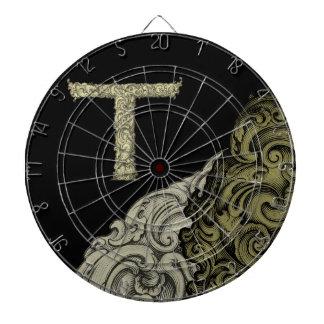 T - The Falck Alphabet (Golden) Dart Boards