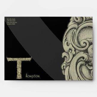 T - The Falck Alphabet (Golden) Envelope