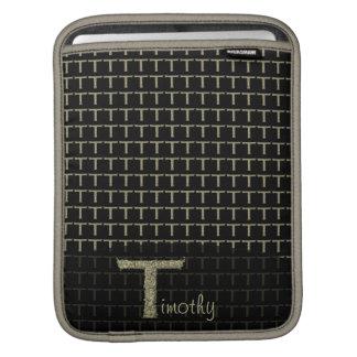 T - The Falck Alphabet (Golden) Sleeve For iPads