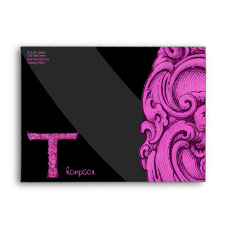 T - The Falck Alphabet (Pink) Envelope