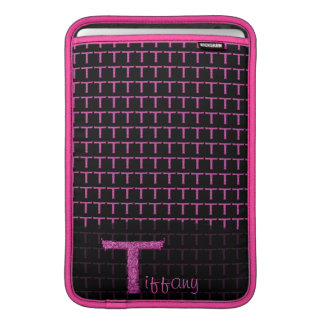 T - The Falck Alphabet (Pink) MacBook Air Sleeves