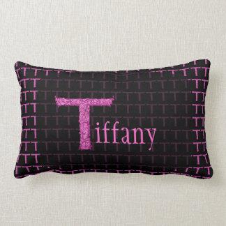T - The Falck Alphabet (Pink) Throw Pillow