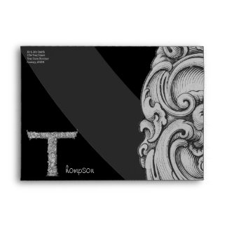 T - The Falck Alphabet (Silvery) Envelope